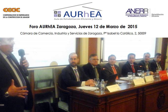 Anerr Celebra El 14 Foro Aurhea En Zaragoza 01